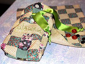 ШАШКИ. Сувенир из лоскутков.. Ярмарка Мастеров - ручная работа, handmade.