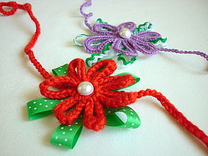 Повязка на голову с цветком для девочки. Ярмарка Мастеров - ручная работа, handmade.