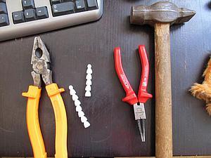 Как соединить скелет (Lockline) для мишек тедди. Ярмарка Мастеров - ручная работа, handmade.