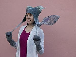 Мастер-класс по сказочным шапкам Аси Тарасовой MoonWool | Ярмарка Мастеров - ручная работа, handmade