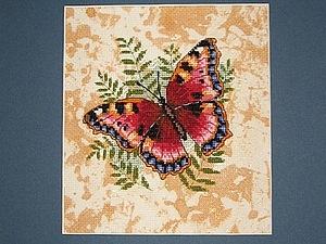 Роспись канвы для вышивки крестом. Ярмарка Мастеров - ручная работа, handmade.