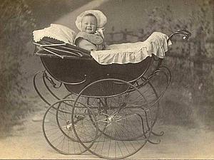 Из истории вещей. Детская коляска: начало пути. Ярмарка Мастеров - ручная работа, handmade.