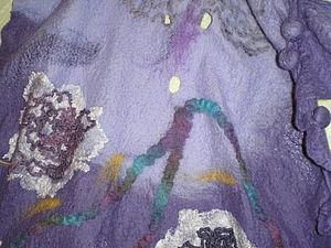 Юбочка «Для Леночки» в технике мокрого валяния | Ярмарка Мастеров - ручная работа, handmade