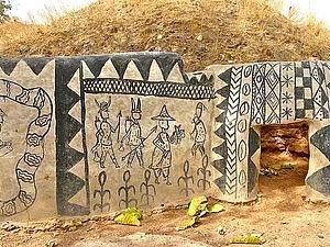Традиционная земляная архитектура Буркина-Фасо. Ярмарка Мастеров - ручная работа, handmade.
