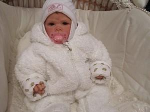Малышка Викуся - кукла реборн Инны Богдановой | Ярмарка Мастеров - ручная работа, handmade