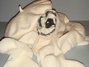Берет и шарфик. | Ярмарка Мастеров - ручная работа, handmade