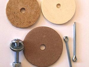 Чем заменить шплинты и диски для игрушек тедди. Ярмарка Мастеров - ручная работа, handmade.