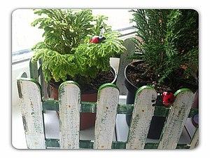 Оформление забора для цветов | Ярмарка Мастеров - ручная работа, handmade