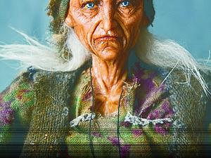 Опыт. Баба Яга | Ярмарка Мастеров - ручная работа, handmade