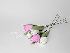 Мастер-класс: тюльпаны из бумаги. Ярмарка Мастеров - ручная работа, handmade.