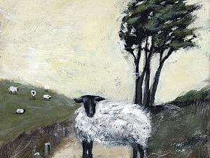 Гуляла белая овца... | Ярмарка Мастеров - ручная работа, handmade