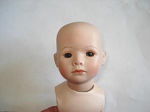 Как прикрепить голову фарфоровой кукле. Ярмарка Мастеров - ручная работа, handmade.