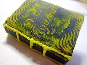 «Старая книга» из пластики: экспериментальный мастер-класс. Ярмарка Мастеров - ручная работа, handmade.