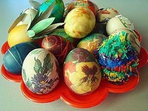13 интересных способов декорирования яиц на Пасху. Ярмарка Мастеров - ручная работа, handmade.