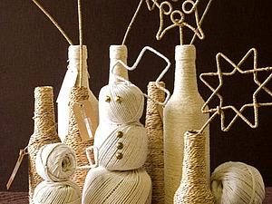 Елочные игрушки своими руками Идеи для новогоднего творчества. | Ярмарка Мастеров - ручная работа, handmade