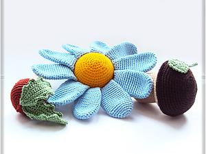Вязаные игрушки-погремушки | Ярмарка Мастеров - ручная работа, handmade