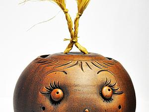 Декорирование глиняного горшка | Ярмарка Мастеров - ручная работа, handmade