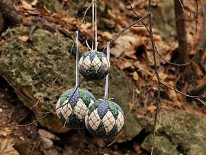Мастер-класс Новогодние/интерьерные шары, обитые тканью | Ярмарка Мастеров - ручная работа, handmade