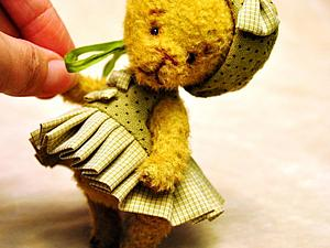 Больше фоток мишки Стеши (Прынцессы на горошине)   Ярмарка Мастеров - ручная работа, handmade