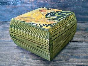 Очень красивые шкатулки! Брашировка+декупаж! Уникальная техника работы с деревом! | Ярмарка Мастеров - ручная работа, handmade