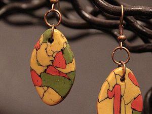 мозаика из полимерной глины | Ярмарка Мастеров - ручная работа, handmade