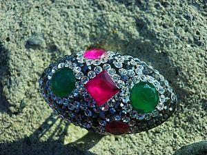 Аукцион! Шикарный перстень, серебро 925 +  розыгрыш! | Ярмарка Мастеров - ручная работа, handmade