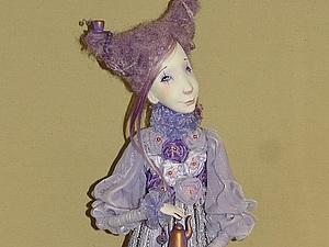 Ирина Горюнова в Одессе. Кукла из самозастывающего пластика.   Ярмарка Мастеров - ручная работа, handmade