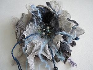 Мк Брошь в стиле Бохо   Ярмарка Мастеров - ручная работа, handmade
