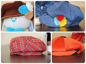 Шьем кепку для игрушки. Ярмарка Мастеров - ручная работа, handmade.