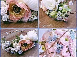 Мастер-класс по созданию цветочных аксессуаров | Ярмарка Мастеров - ручная работа, handmade