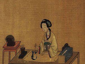 Женщины-художницы в Древнем Китае. Ярмарка Мастеров - ручная работа, handmade.