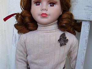 Замена тела и восстановление парика у фарфоровой куклы. Ярмарка Мастеров - ручная работа, handmade.