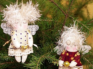 Рождественский Ангел-Малютка от Nkale. Ярмарка Мастеров - ручная работа, handmade.