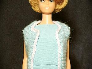 Вяжем жилет для куклы Барби в стиле sorority. Ярмарка Мастеров - ручная работа, handmade.