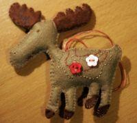 Новогодняя Игрушка из Фетра   Ярмарка Мастеров - ручная работа, handmade