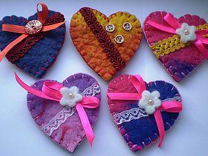 Ко Дню Св.Валентина -валентика в подарок! | Ярмарка Мастеров - ручная работа, handmade