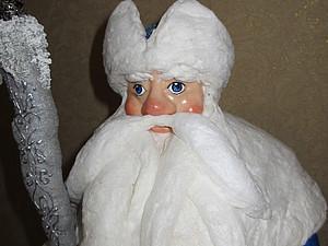"""""""Морозко"""" - Дед Мороз из ваты. Ярмарка Мастеров - ручная работа, handmade."""
