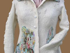 Бесшовная войлочная одежда | Ярмарка Мастеров - ручная работа, handmade