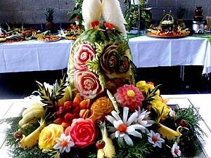 Акция : Скидка на Карвинг  оформление Свадебного  стола , банкета | Ярмарка Мастеров - ручная работа, handmade