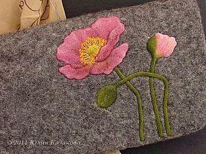 Мастер-класс по валянию - рисунок в сухой технике. | Ярмарка Мастеров - ручная работа, handmade
