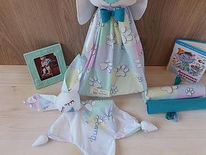Комплект для новорожденного (комфортер + мешочек для памперсов) | Ярмарка Мастеров - ручная работа, handmade