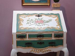 Деревенское бюро в стиле рококо. | Ярмарка Мастеров - ручная работа, handmade