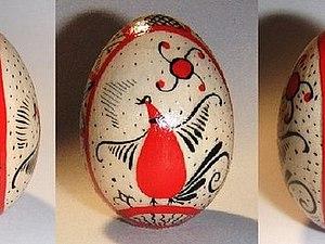 Мезенская роспись пасхальных яиц | Ярмарка Мастеров - ручная работа, handmade