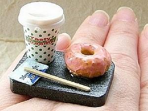 Кольца-вкусняшки от SouZouCreations | Ярмарка Мастеров - ручная работа, handmade