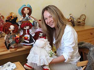 Ода прекрасному мастеру: Татьяна Савченко и ее сердечные куклы. Ярмарка Мастеров - ручная работа, handmade.