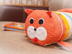 Шьем полезную подушку-игрушку «Кот». Ярмарка Мастеров - ручная работа, handmade.