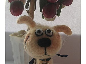 Создание интерьерной игрушки методом сухого валяния   Ярмарка Мастеров - ручная работа, handmade