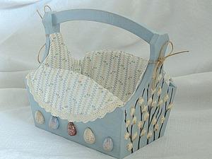 Мастер-класс: корзинка для пасхального кулича. Часть 1. Ярмарка Мастеров - ручная работа, handmade.