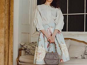 Аукцион с НУЛЯ: блузка как у Кати Шпицы! | Ярмарка Мастеров - ручная работа, handmade
