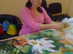 Мастер класс по картинам из шерсти | Ярмарка Мастеров - ручная работа, handmade